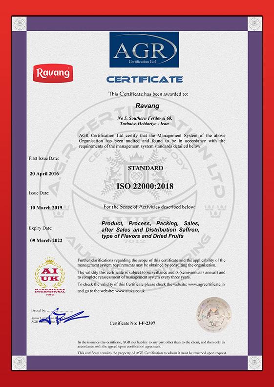 Ravang-ISO-22000