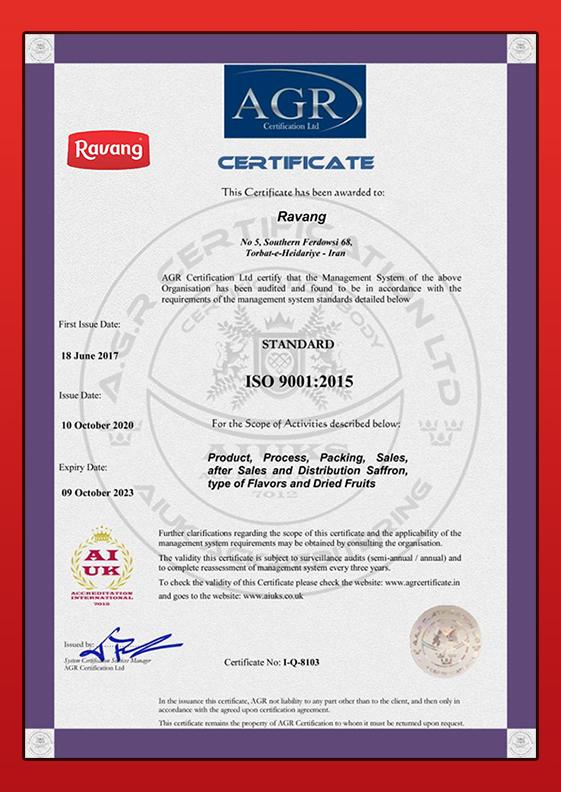 Ravang-ISO-9001
