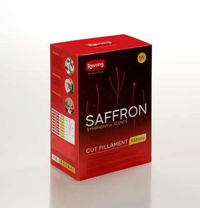 Ravang 500 gr All-Red Saffron Bulk Box Pack