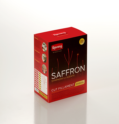 Ravang 250 gr All-Red Saffron Bulk Box Pack